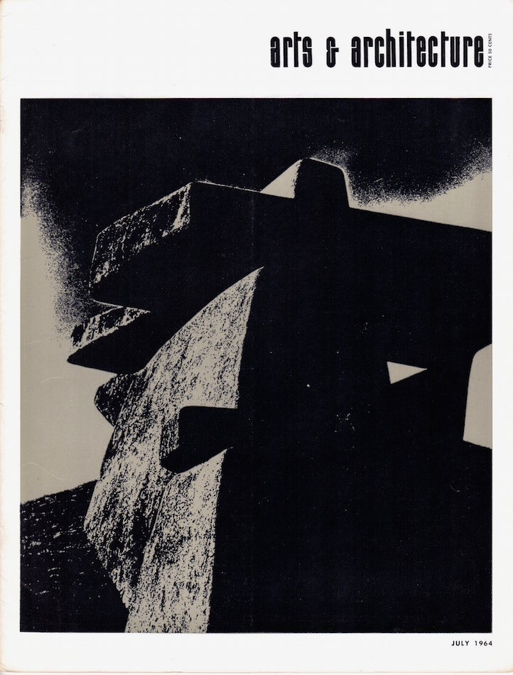 Arts & Architecture: July 1964; Vol. 81, No. 7. David Travers.
