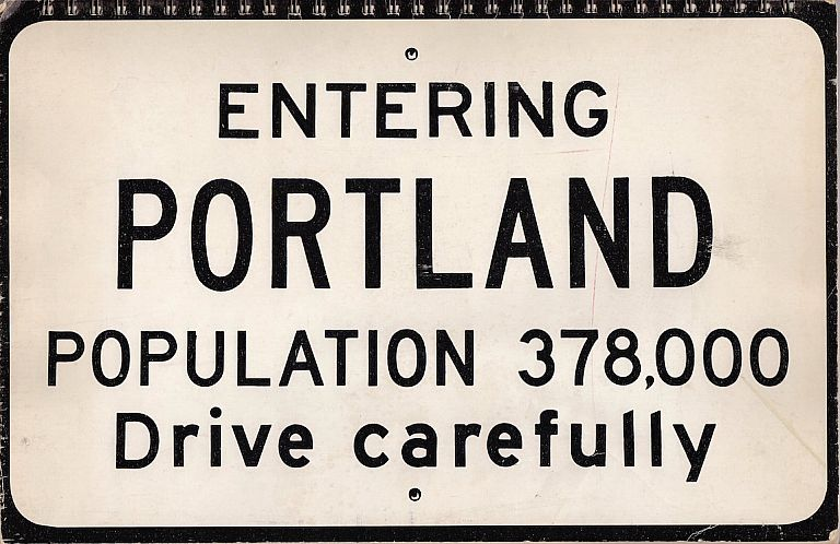 Entering Portland: A Visual Survey of Downtown Portland (1971). Richard Norman.