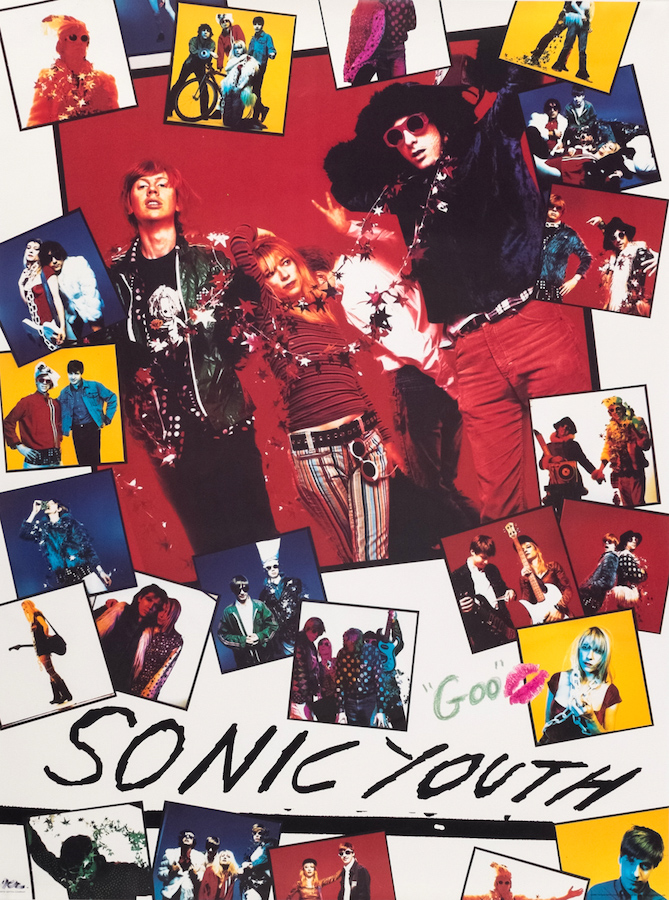 """Sonic Youth """"Goo"""" Label Poster (1990)"""