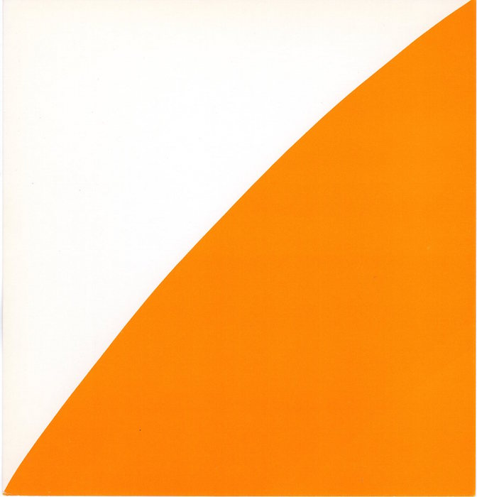 Ellsworth Kelly: Colored Paper Images Exhibition Card (1977). Ellsworth Kelly.
