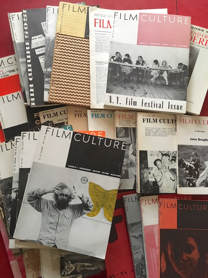 Film Culture Magazine: A Collection of 49 Issues in 35 Publications. Jonas Mekas.