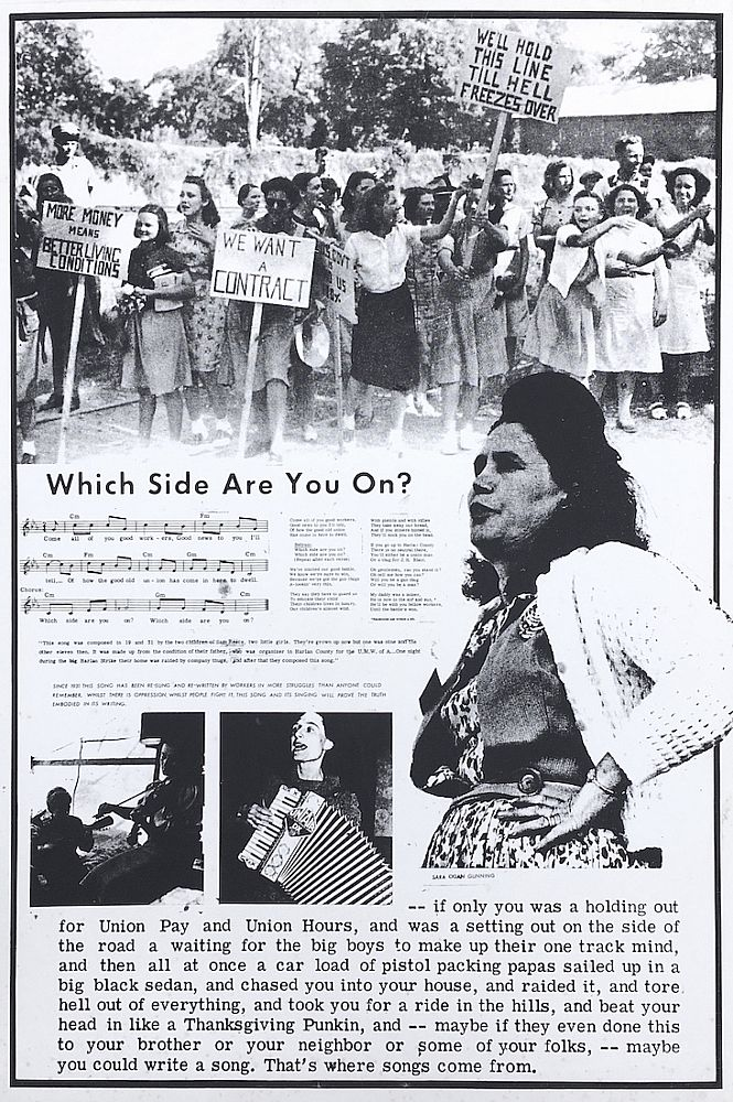 Which Side Are You On? Poster (circa 1974)