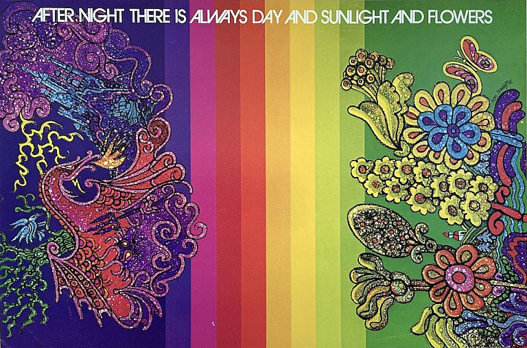Sunlight and Flowers Poster (1972). Ron Bradford, Terry Mashaw.