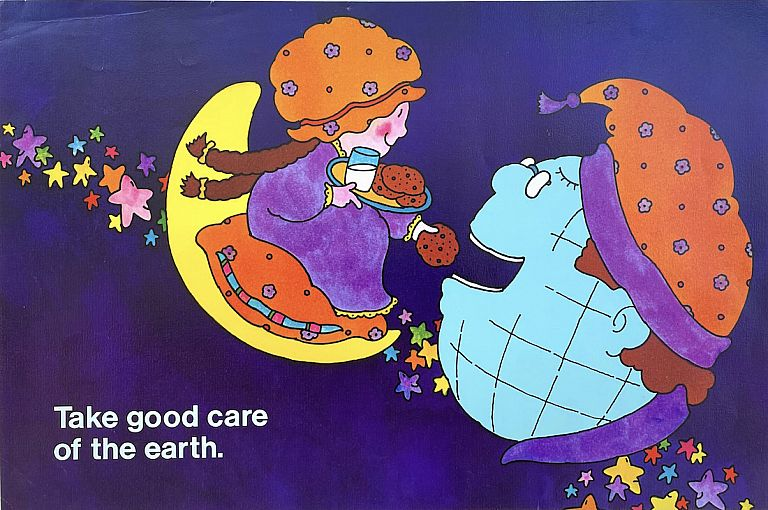 Take Good Care of the Earth Poster (1972). Carl Kock.