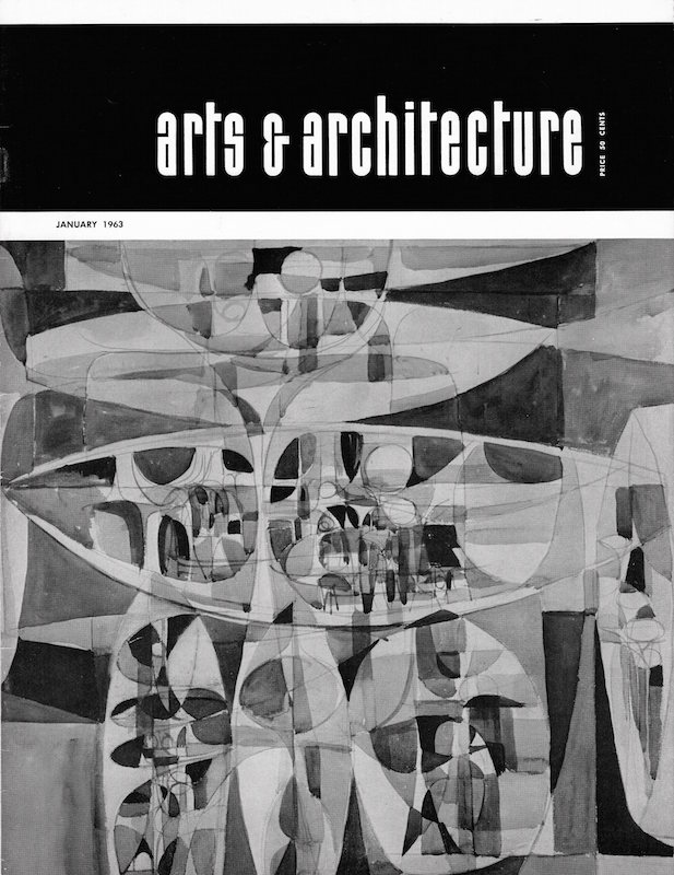 Arts & Architecture: January 1963; Vol. 80, No. 1. John Entenza.