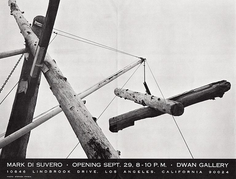 Mark di Suvero: Dwan Gallery. Mark di Suvero.