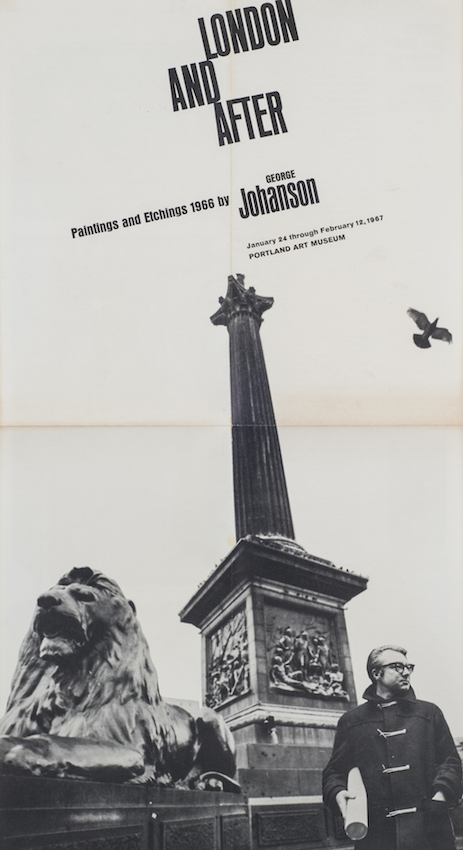 London and After: Paintings and Etchings, 1966. George Johanson.