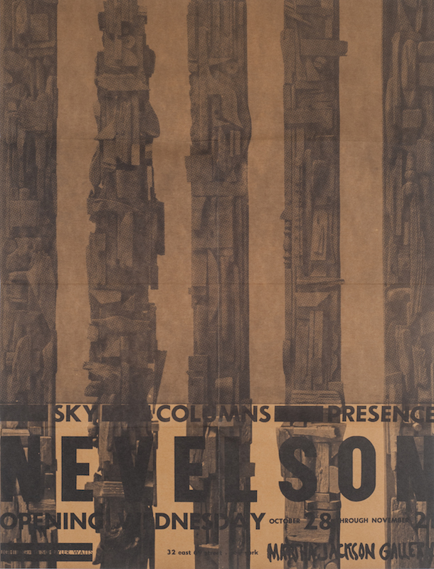 Louise Nevelson: Sky Columns Presence. Louise Nevelson.
