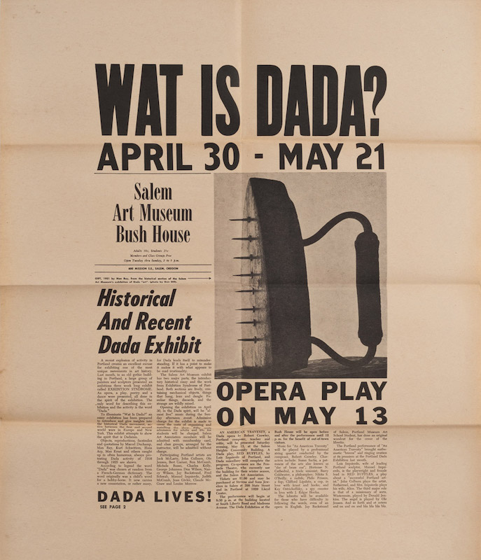 Wat is Dada? Jack Eyerly.