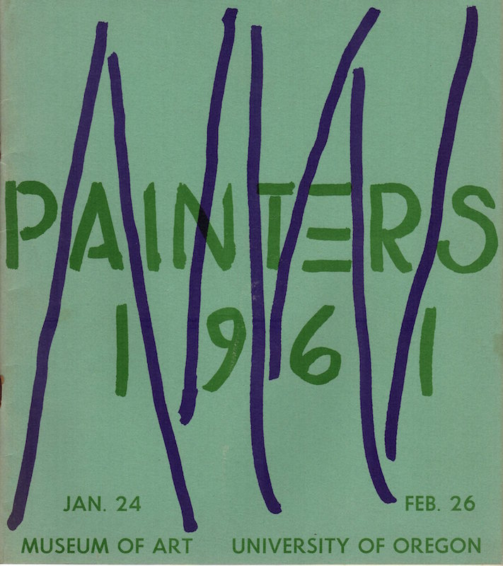 Northwest Painters 1961; Museum of Art, University of Oregon. James F. Colley.