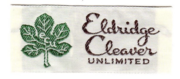 Garment Label: Eldridge Cleaver Unlimited. Eldridge Cleaver.