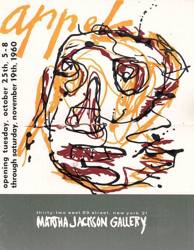 Karel Appel: Martha Jackson Gallery and Lithographs by Appel: David Anderson Gallery
