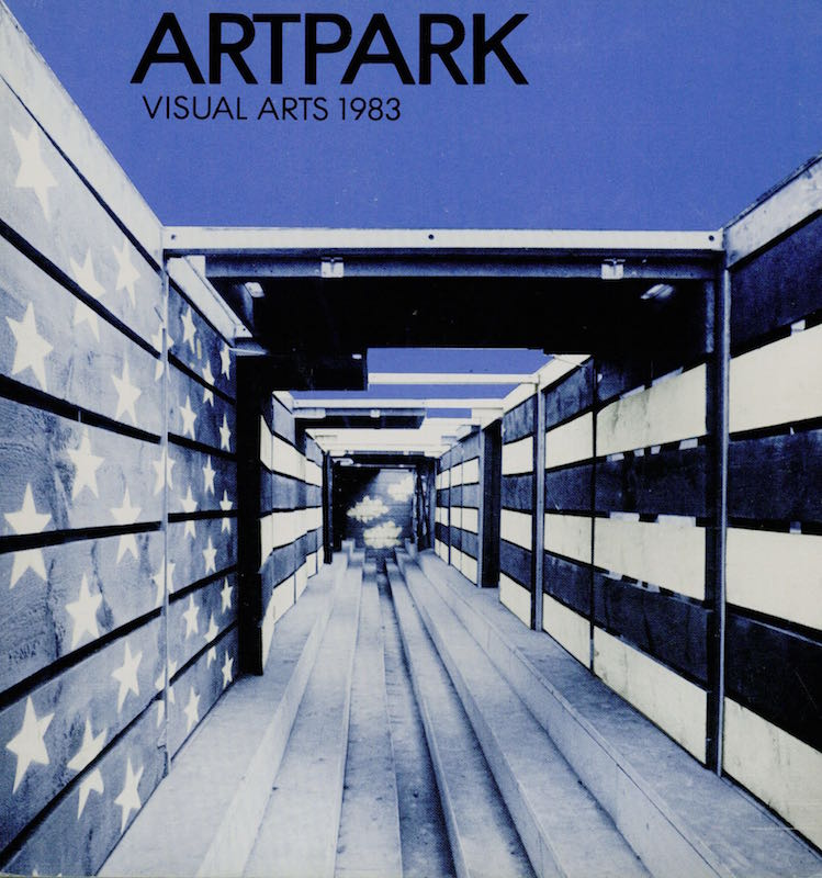 Artpark: Visual Arts 1983. William Zimmer.