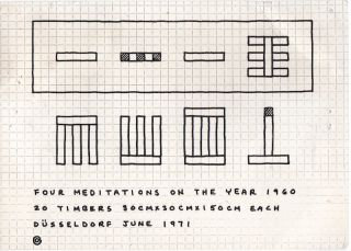 Four Meditations on the Year 1960