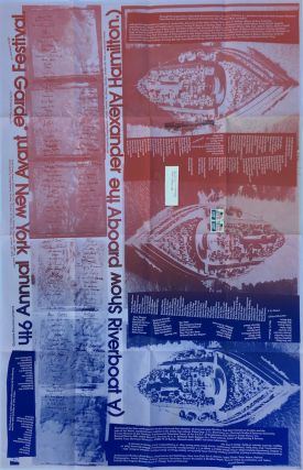 9th Annual New York Avant Garde Festival Poster. Charlotte Moorman, Jim McWilliams