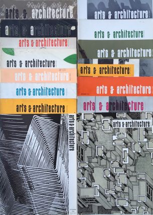 A Collection of 25 Issues of Arts & Architecture Magazine; 1944-1967