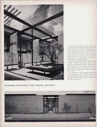 Arts & Architecture: July 1964; Vol. 81, No. 7