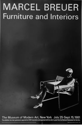 Marcel Breuer: Furniture and Interiors Poster, 1981
