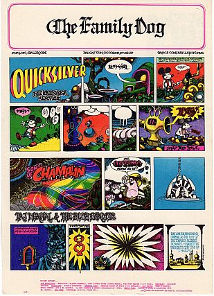 Quicksilver Messenger Service, Sons of Champlin and Taj Mahal: Family Dog Productions Concert...