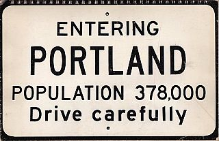 Entering Portland: A Visual Survey of Downtown Portland (1971). Richard Norman