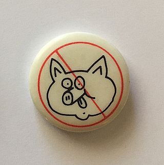 Don't Be a Litterpig Button (Pig Head 1984). Keith Haring
