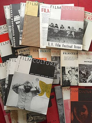Film Culture Magazine: A Collection of 49 Issues in 35 Publications. Jonas Mekas