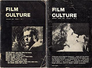 Film Culture Magazine: A Collection of 49 Issues in 35 Publications