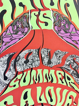 Haight is Love / Summer is a Love-In Here Poster (1967)