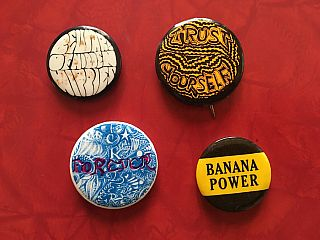 Drugs, Counterculture and Anti-War Button Collection: 24 Buttons (1960-'70s)