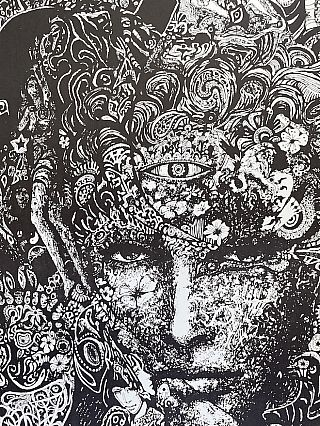 Psychedelic LSD Poster (1967)