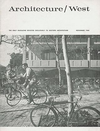 Architecture West: November 1968; Vol. 74, No. 11. Relta Grey