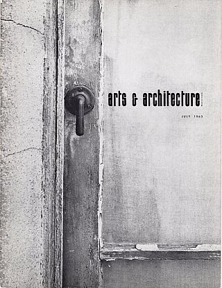 Arts & Architecture: July 1963; Vol. 80, No. 7. David Travers
