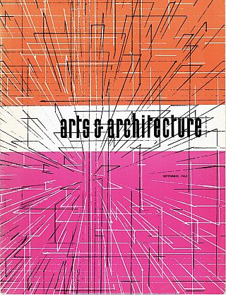 Arts & Architecture: September 1963; Vol. 80, No. 9. David Travers