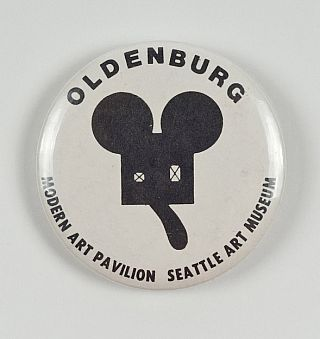 Claes Oldenburg: Button. Claes Oldenburg