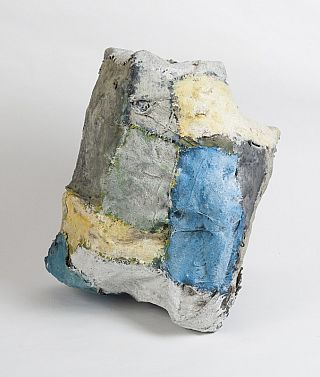 Norma Heyser Sculpture [blue-yellow]