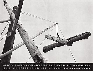 Mark di Suvero: Dwan Gallery. Mark di Suvero