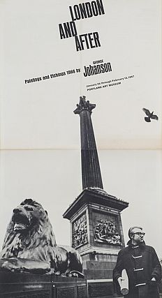 London and After: Paintings and Etchings, 1966. George Johanson