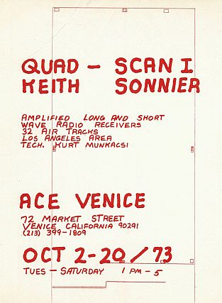 Keith Sonnier: Quad-Scan I