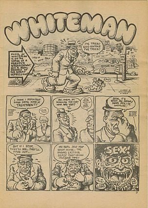Zap Comix No. 1; with a Front Cover misprint