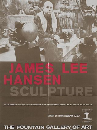 James Lee Hansen: Sculpture 1969. James Lee Hansen