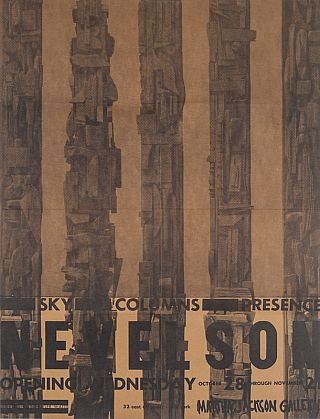 Louise Nevelson: Sky Columns Presence