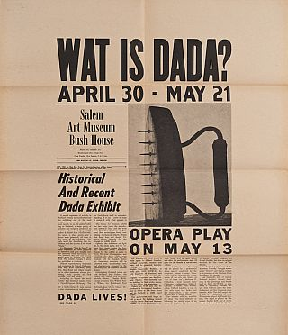 Wat is Dada? Jack Eyerly