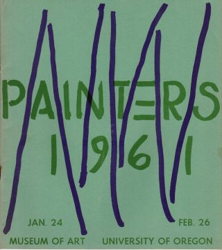 Northwest Painters 1961; Museum of Art, University of Oregon. James F. Colley