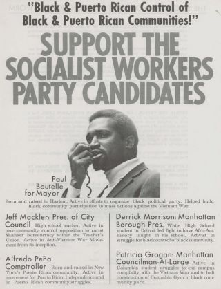 Socialist Workers Party: Candidates and Platform