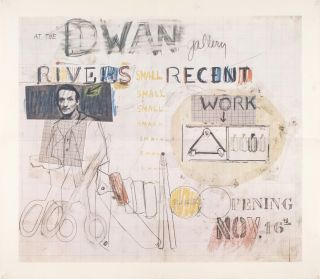 Larry Rivers: Recent Work, Dwan Gallery