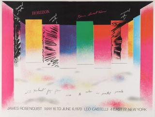 James Rosenquist: Leo Castelli Gallery (1970
