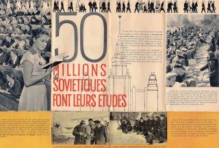 Notre Vie; U.S.S.R. Brochure for the Brussels Universal and International Exhibition 1958